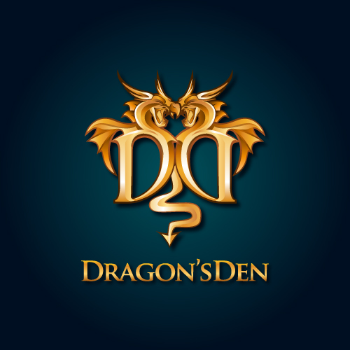 Logo Design by SilverEagle - Entry No. 94 in the Logo Design Contest The Dragons' Den needs a new logo.