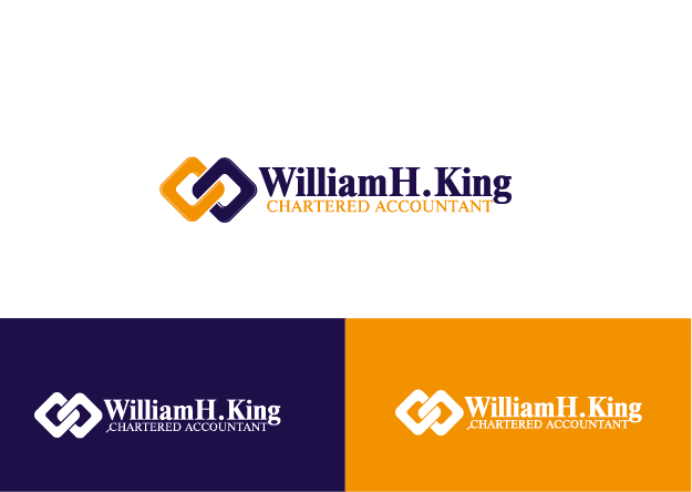 Logo Design by Private User - Entry No. 167 in the Logo Design Contest New Logo Design for William H. King, Chartered Accountant.