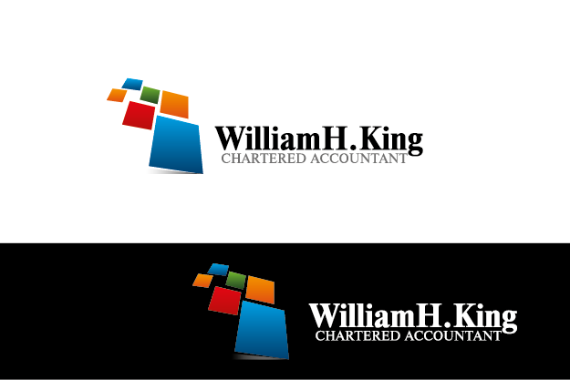 Logo Design by Private User - Entry No. 169 in the Logo Design Contest New Logo Design for William H. King, Chartered Accountant.