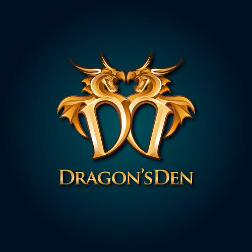 Logo Design by SilverEagle - Entry No. 95 in the Logo Design Contest The Dragons' Den needs a new logo.