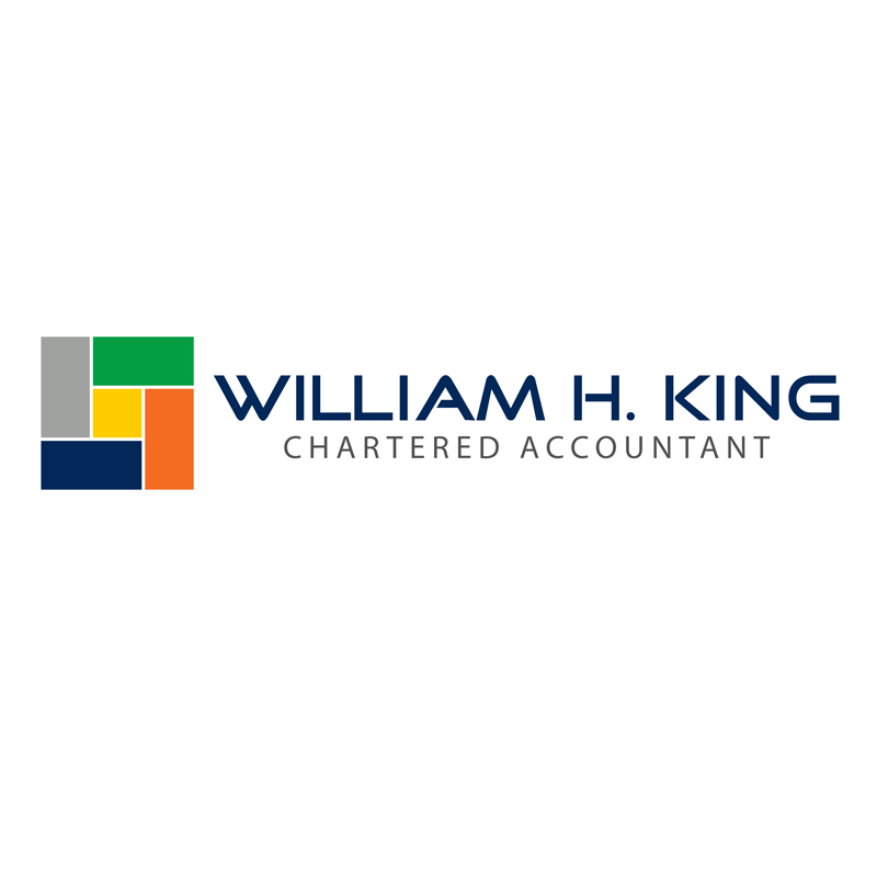 Logo Design by Private User - Entry No. 172 in the Logo Design Contest New Logo Design for William H. King, Chartered Accountant.