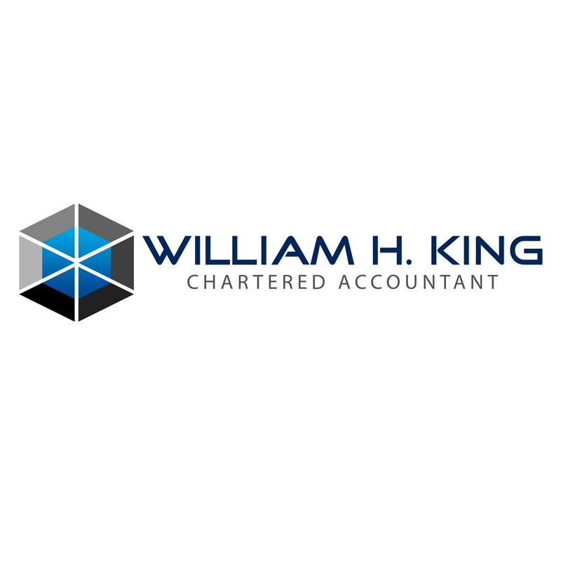 Logo Design by Private User - Entry No. 173 in the Logo Design Contest New Logo Design for William H. King, Chartered Accountant.