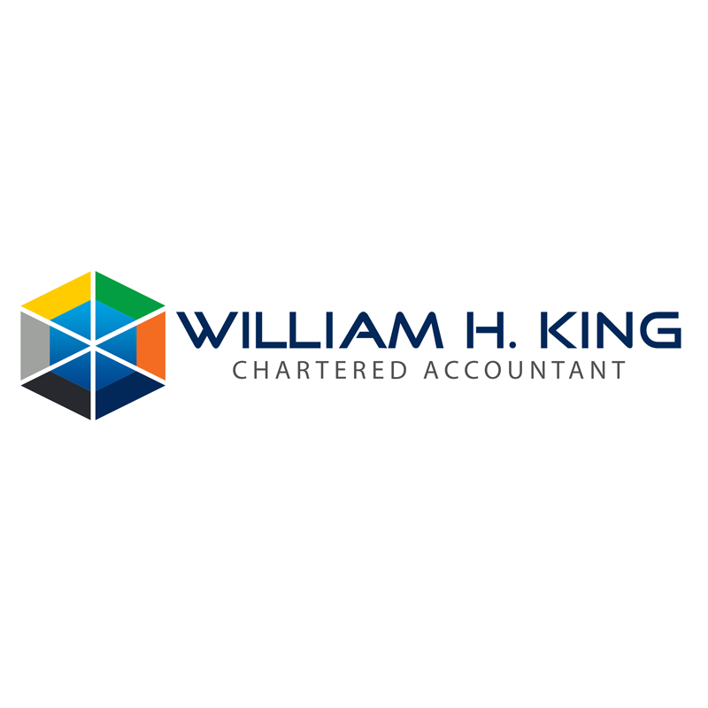 Logo Design by Private User - Entry No. 174 in the Logo Design Contest New Logo Design for William H. King, Chartered Accountant.