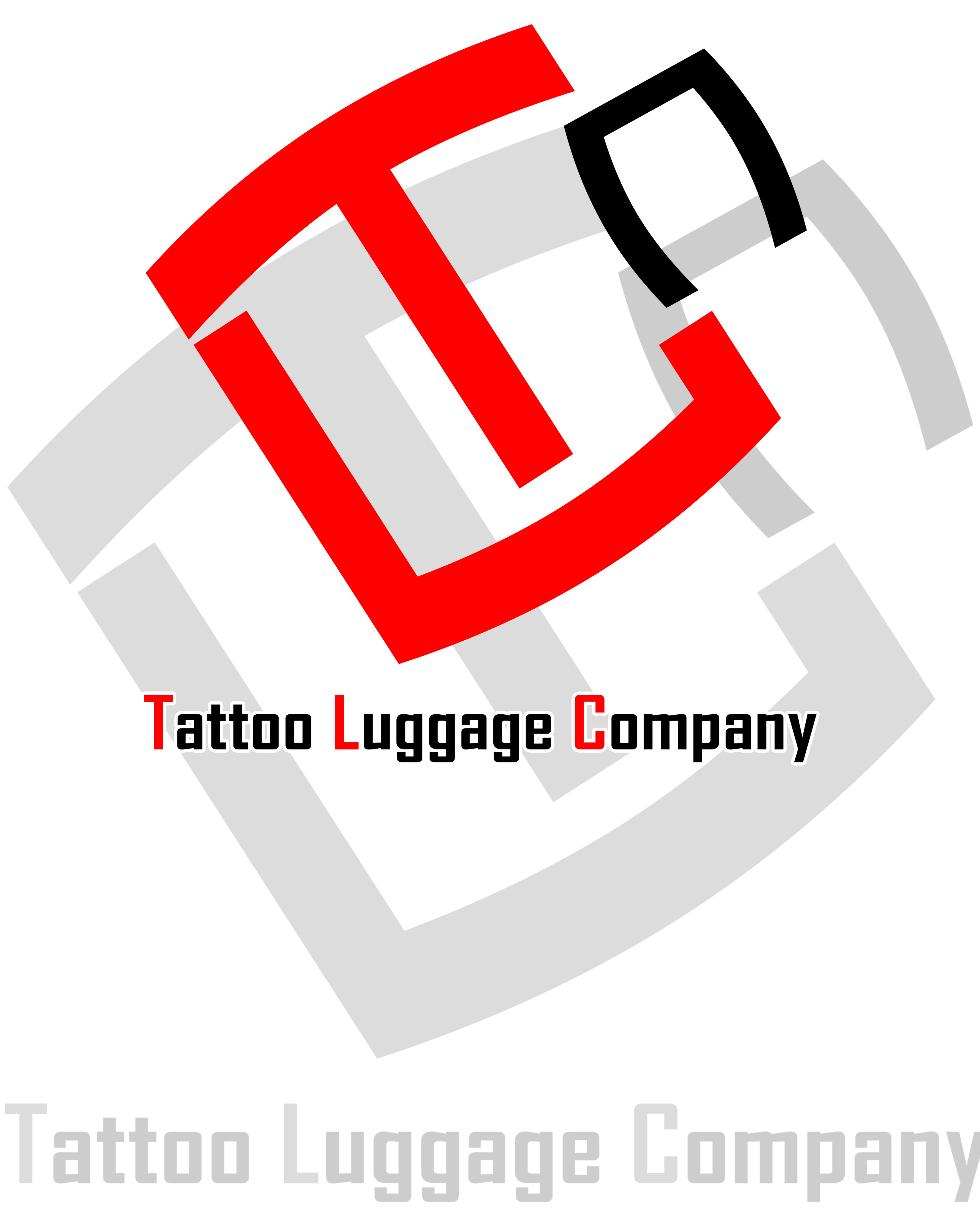 Logo Design by Earl Bangot - Entry No. 6 in the Logo Design Contest Artistic Logo Design for Tattoo Luggage Company.