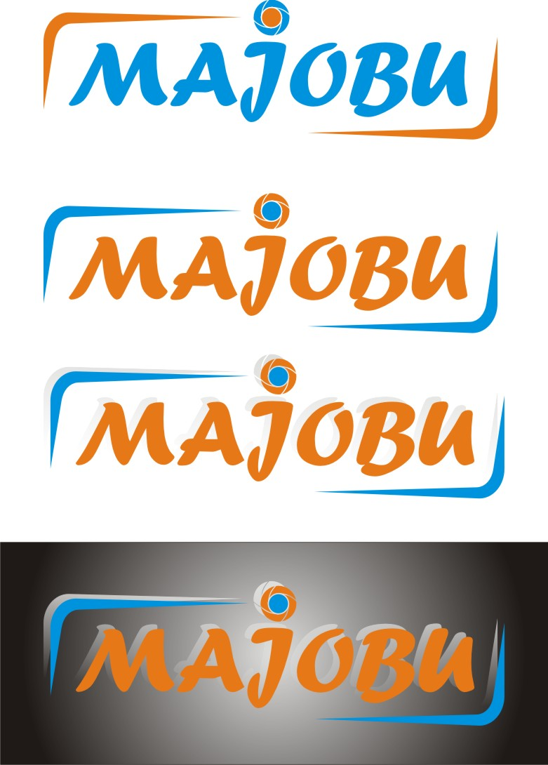 Logo Design by Korsunov Oleg - Entry No. 113 in the Logo Design Contest Inspiring Logo Design for Majobu.