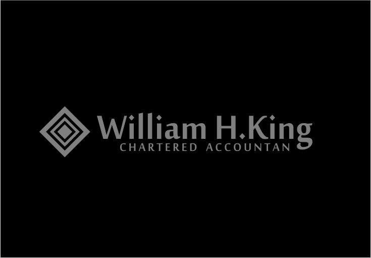 Logo Design by Agus Martoyo - Entry No. 179 in the Logo Design Contest New Logo Design for William H. King, Chartered Accountant.