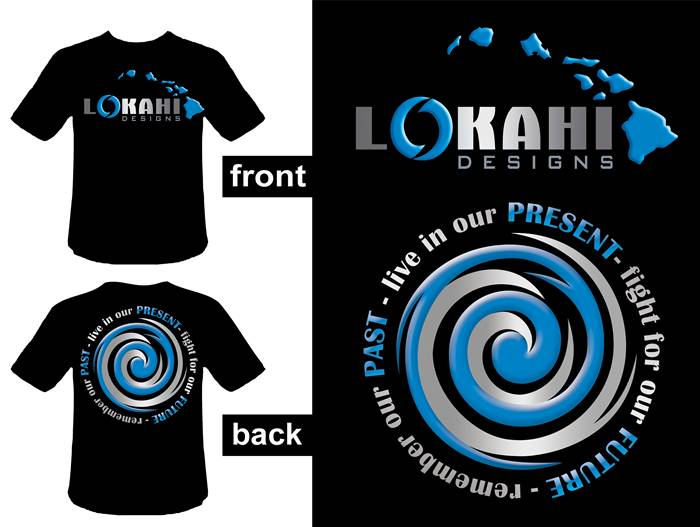 Clothing Design by Respati Himawan - Entry No. 64 in the Clothing Design Contest Creative Clothing Design for LOKAHI designs.