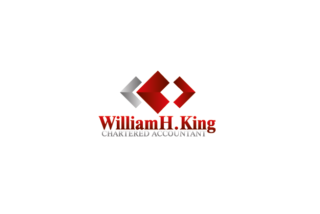 Logo Design by Private User - Entry No. 181 in the Logo Design Contest New Logo Design for William H. King, Chartered Accountant.