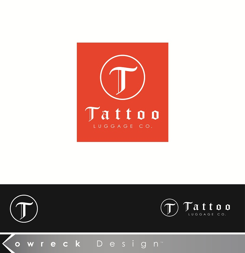 Logo Design by kowreck - Entry No. 7 in the Logo Design Contest Artistic Logo Design for Tattoo Luggage Company.