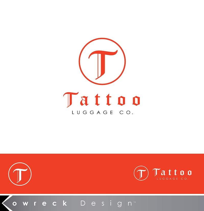Logo Design by kowreck - Entry No. 8 in the Logo Design Contest Artistic Logo Design for Tattoo Luggage Company.