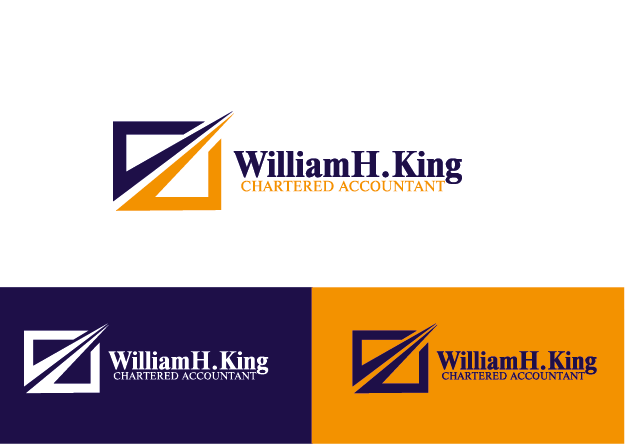 Logo Design by Private User - Entry No. 184 in the Logo Design Contest New Logo Design for William H. King, Chartered Accountant.