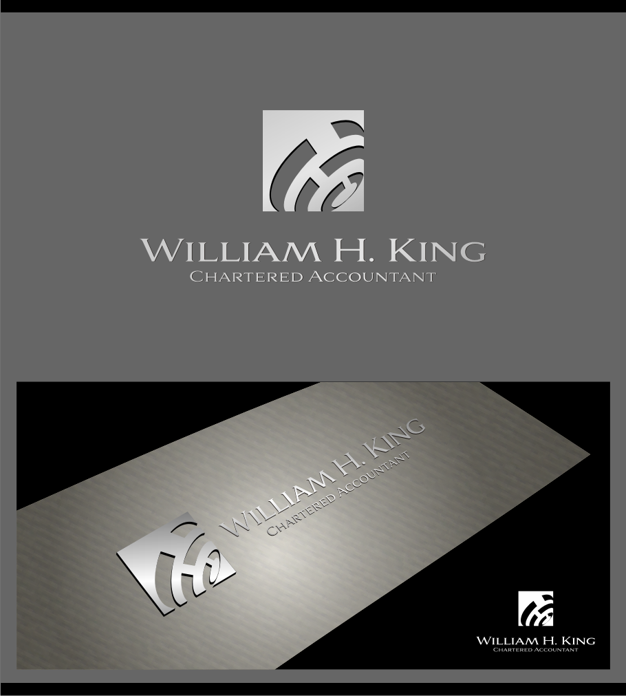 Logo Design by graphicleaf - Entry No. 185 in the Logo Design Contest New Logo Design for William H. King, Chartered Accountant.