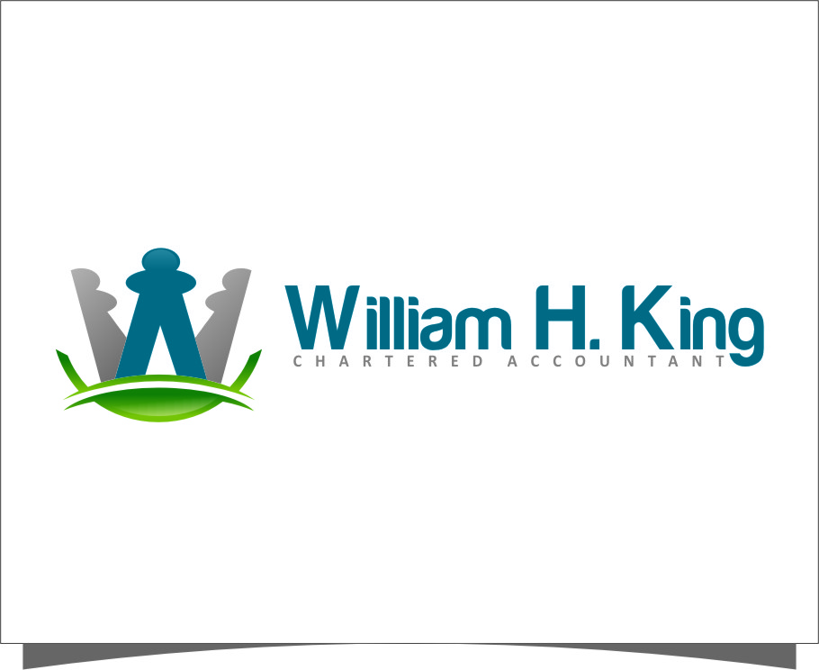 Logo Design by RasYa Muhammad Athaya - Entry No. 186 in the Logo Design Contest New Logo Design for William H. King, Chartered Accountant.