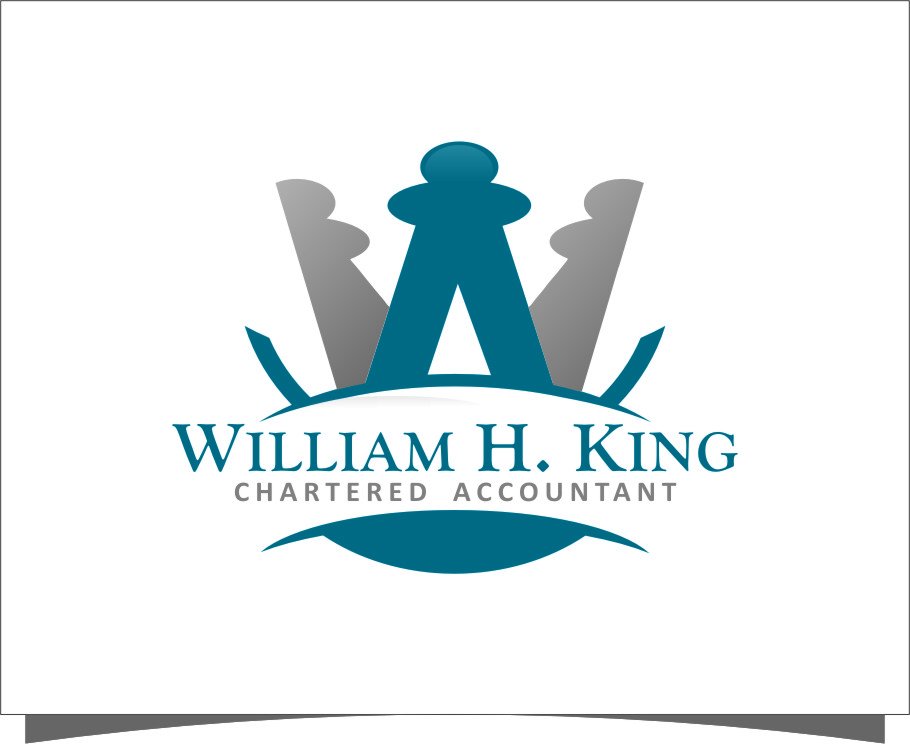 Logo Design by Ngepet_art - Entry No. 188 in the Logo Design Contest New Logo Design for William H. King, Chartered Accountant.