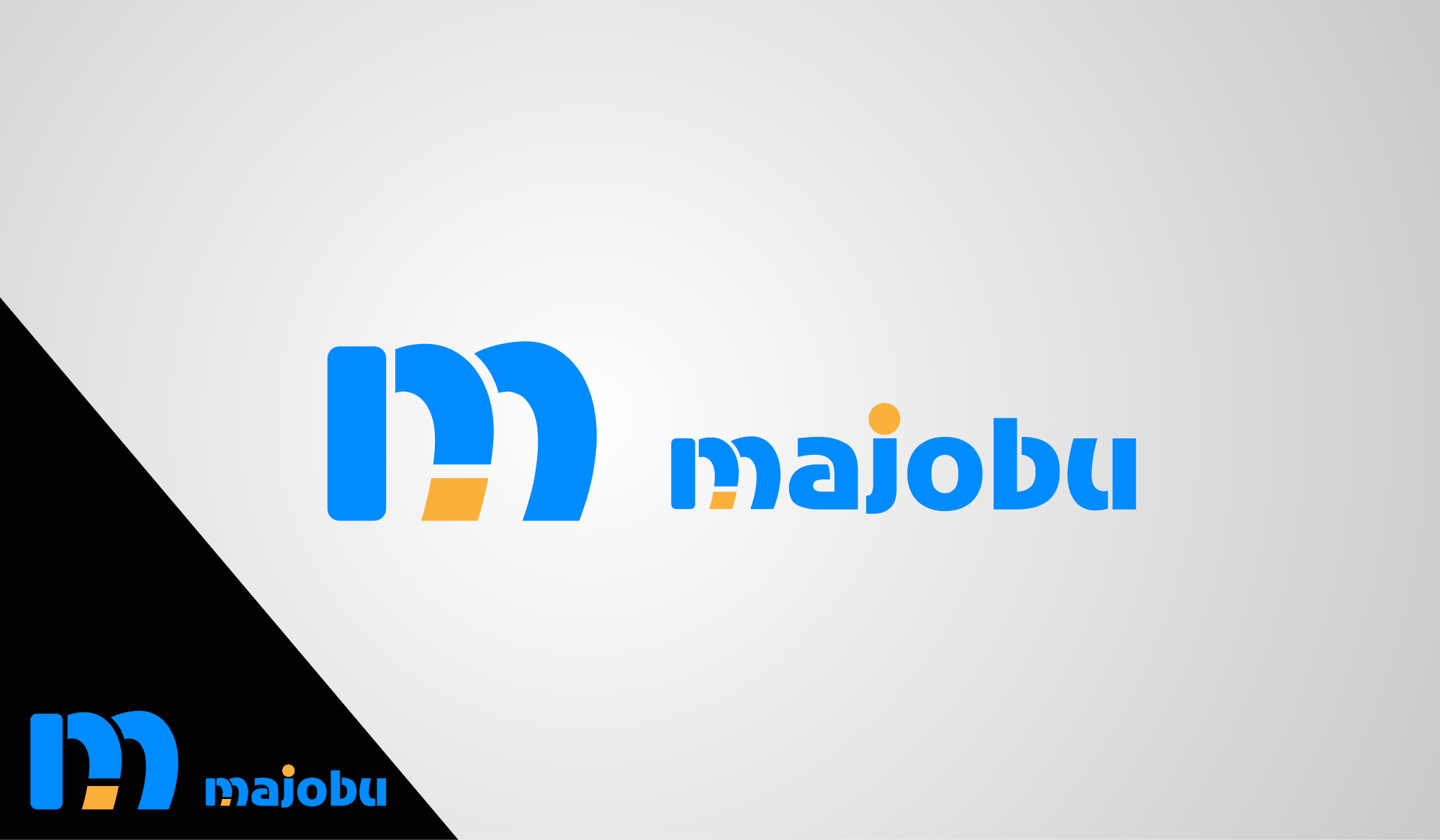 Logo Design by Private User - Entry No. 124 in the Logo Design Contest Inspiring Logo Design for Majobu.