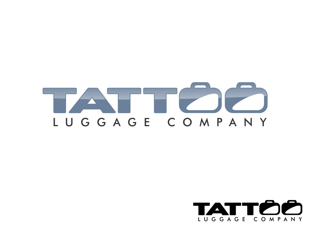 Logo Design by Chris Frederickson - Entry No. 9 in the Logo Design Contest Artistic Logo Design for Tattoo Luggage Company.