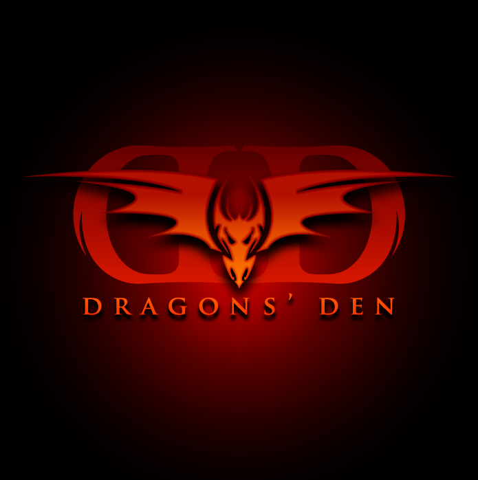 Logo Design by Miamiman - Entry No. 97 in the Logo Design Contest The Dragons' Den needs a new logo.