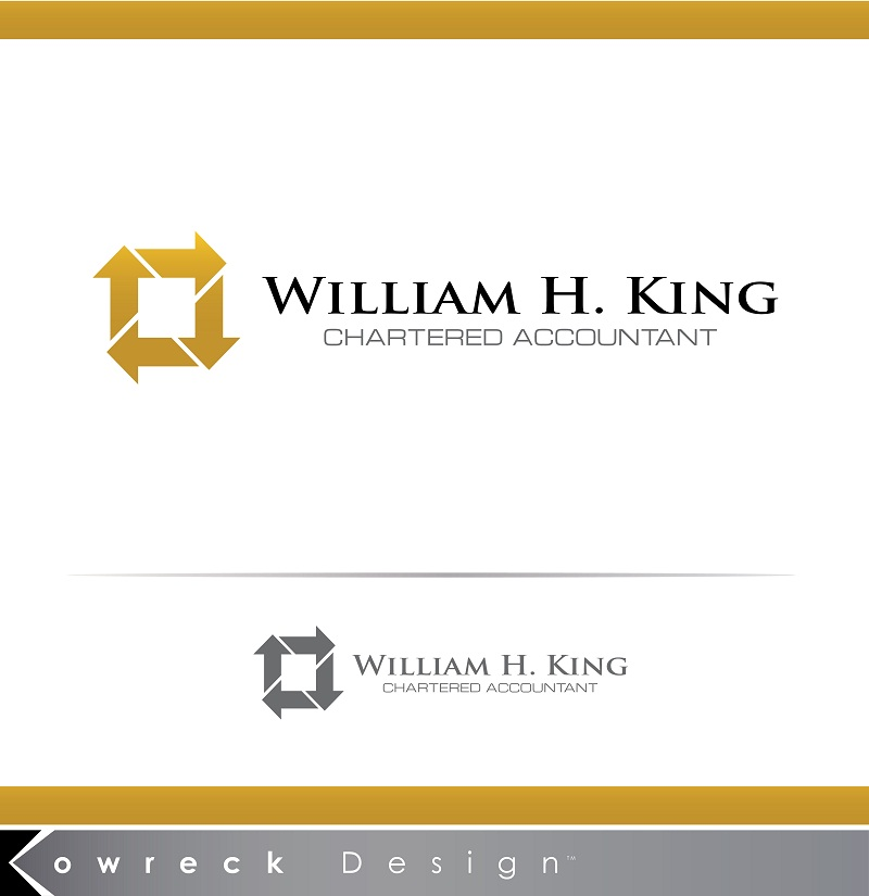 Logo Design by kowreck - Entry No. 200 in the Logo Design Contest New Logo Design for William H. King, Chartered Accountant.
