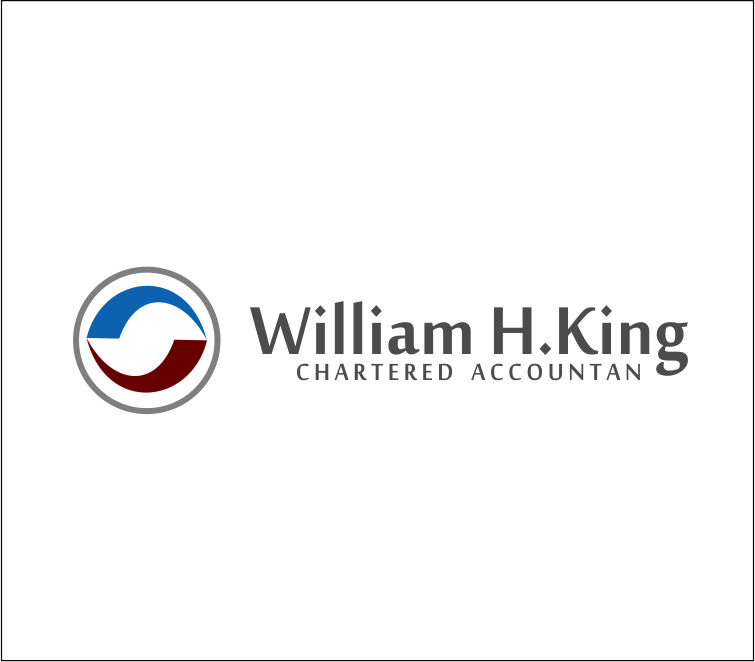 Logo Design by Agus Martoyo - Entry No. 203 in the Logo Design Contest New Logo Design for William H. King, Chartered Accountant.