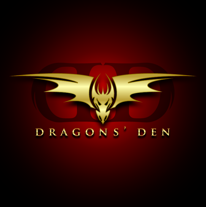 Logo Design by Miamiman - Entry No. 98 in the Logo Design Contest The Dragons' Den needs a new logo.