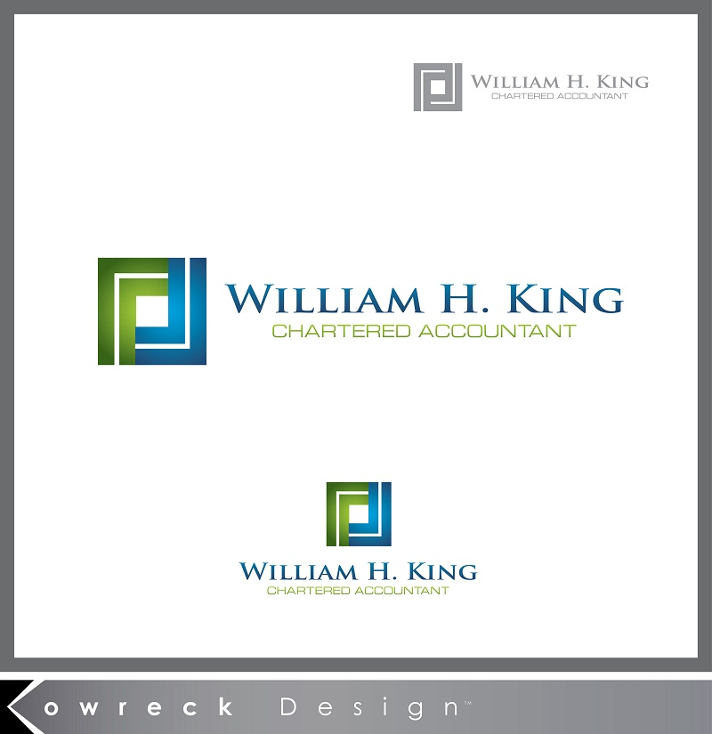 Logo Design by kowreck - Entry No. 204 in the Logo Design Contest New Logo Design for William H. King, Chartered Accountant.