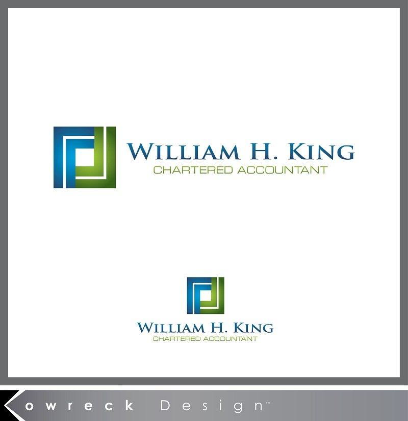 Logo Design by kowreck - Entry No. 205 in the Logo Design Contest New Logo Design for William H. King, Chartered Accountant.