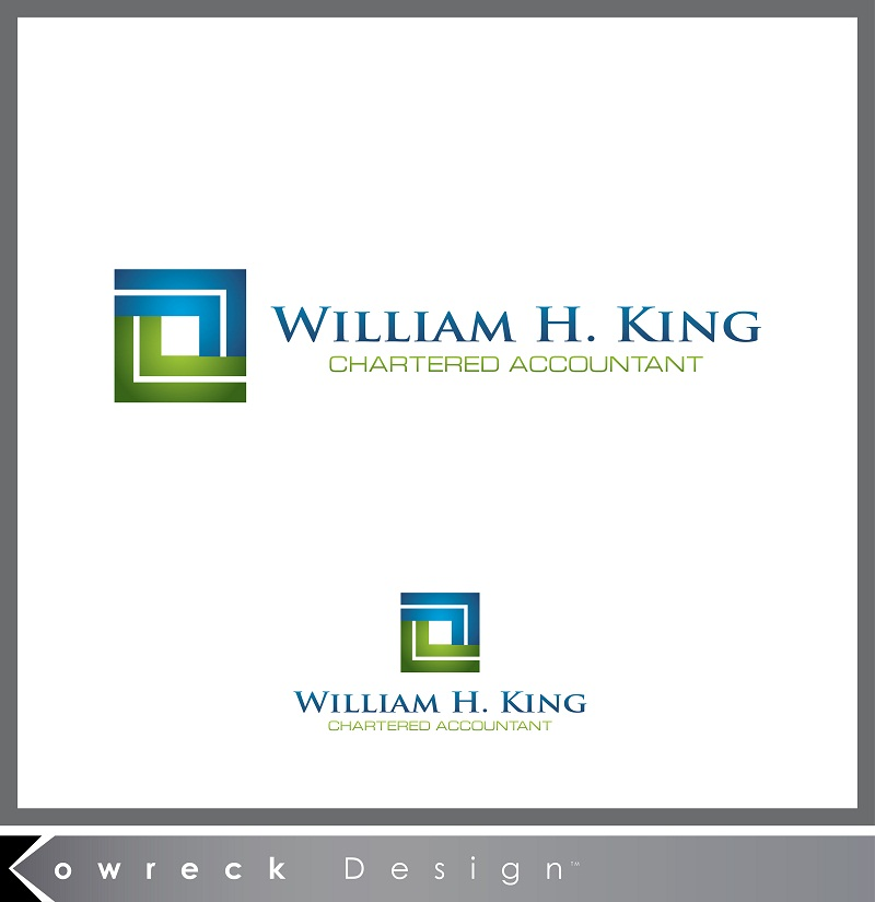Logo Design by kowreck - Entry No. 206 in the Logo Design Contest New Logo Design for William H. King, Chartered Accountant.