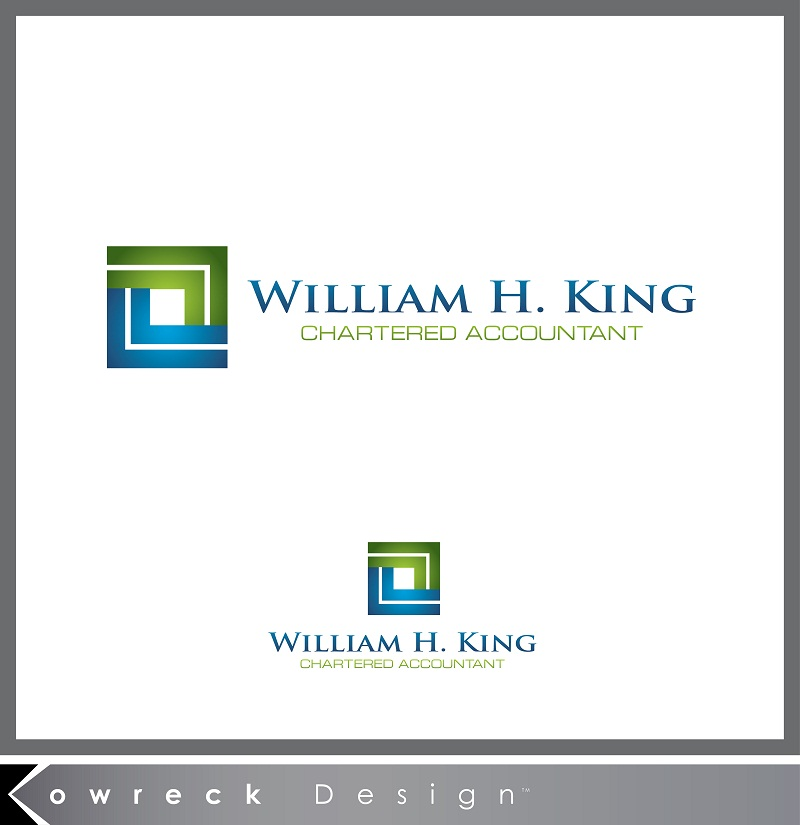 Logo Design by kowreck - Entry No. 207 in the Logo Design Contest New Logo Design for William H. King, Chartered Accountant.