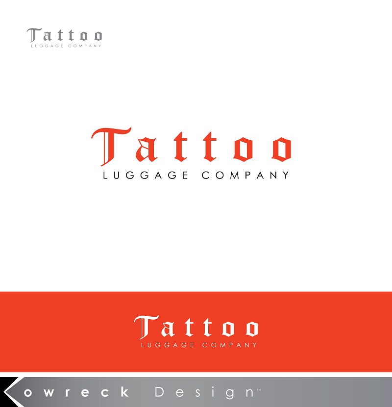 Logo Design by kowreck - Entry No. 10 in the Logo Design Contest Artistic Logo Design for Tattoo Luggage Company.