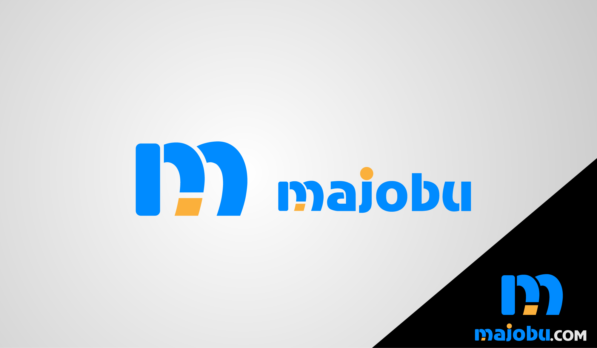 Logo Design by Private User - Entry No. 125 in the Logo Design Contest Inspiring Logo Design for Majobu.