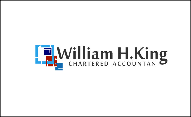 Logo Design by Agus Martoyo - Entry No. 208 in the Logo Design Contest New Logo Design for William H. King, Chartered Accountant.