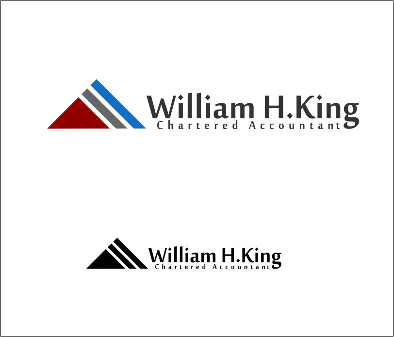 Logo Design by Agus Martoyo - Entry No. 210 in the Logo Design Contest New Logo Design for William H. King, Chartered Accountant.