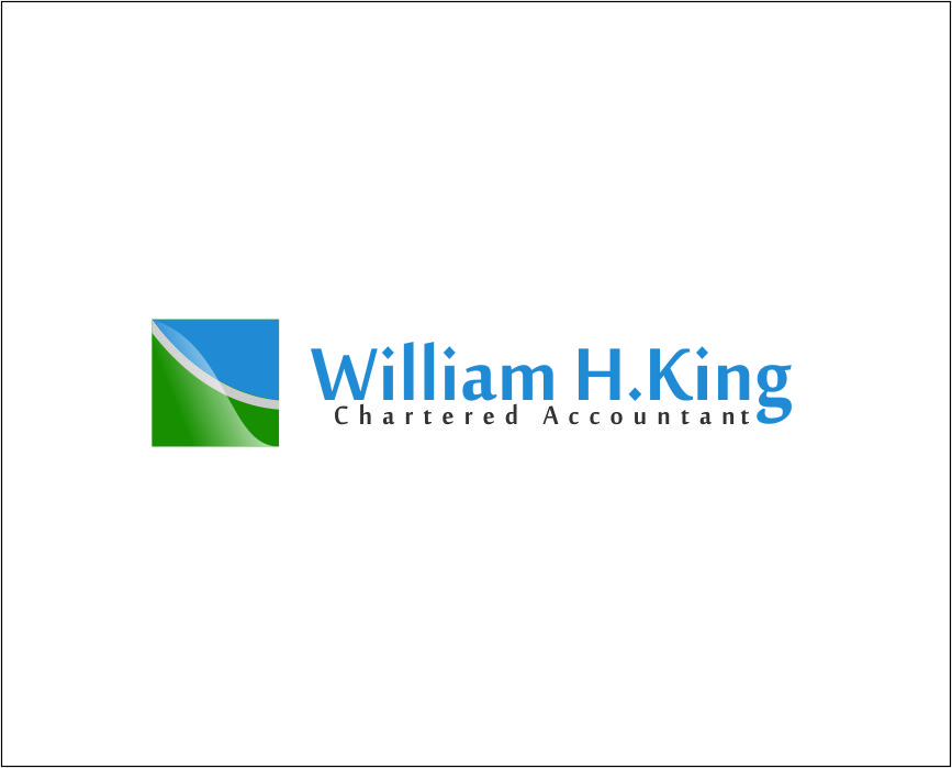 Logo Design by Agus Martoyo - Entry No. 213 in the Logo Design Contest New Logo Design for William H. King, Chartered Accountant.