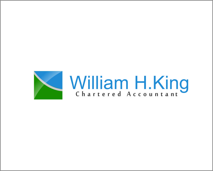Logo Design by Agus Martoyo - Entry No. 215 in the Logo Design Contest New Logo Design for William H. King, Chartered Accountant.