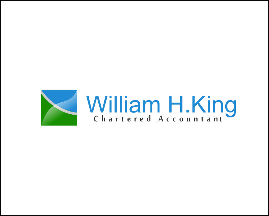 Logo Design by Agus Martoyo - Entry No. 216 in the Logo Design Contest New Logo Design for William H. King, Chartered Accountant.