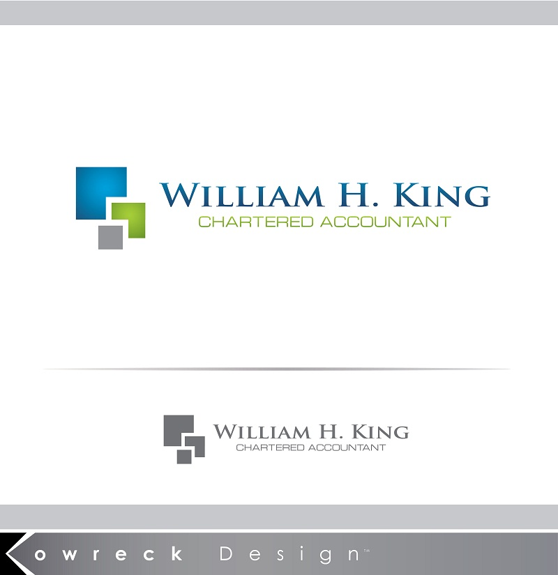Logo Design by kowreck - Entry No. 217 in the Logo Design Contest New Logo Design for William H. King, Chartered Accountant.