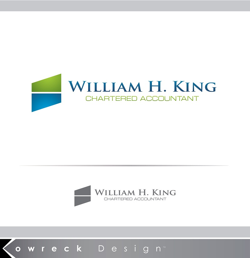 Logo Design by kowreck - Entry No. 218 in the Logo Design Contest New Logo Design for William H. King, Chartered Accountant.