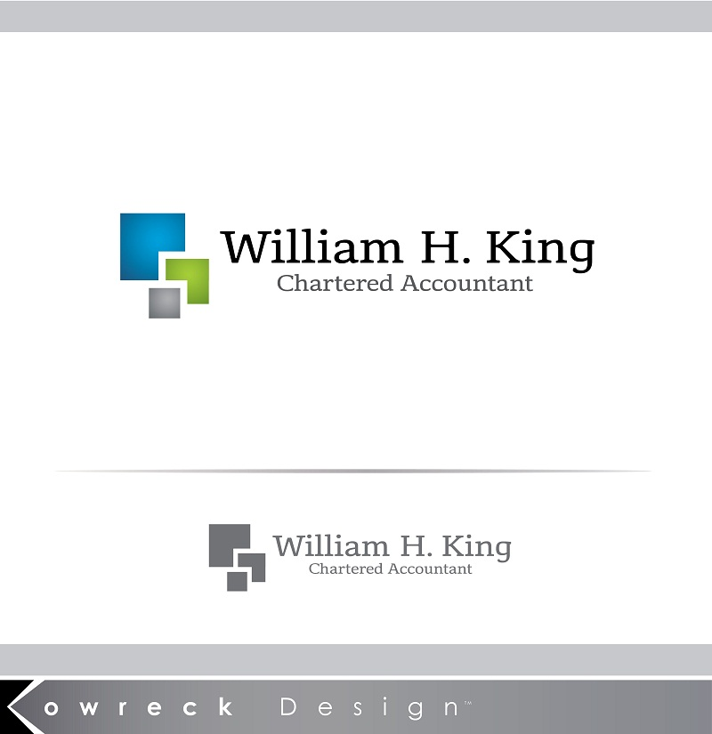 Logo Design by kowreck - Entry No. 219 in the Logo Design Contest New Logo Design for William H. King, Chartered Accountant.
