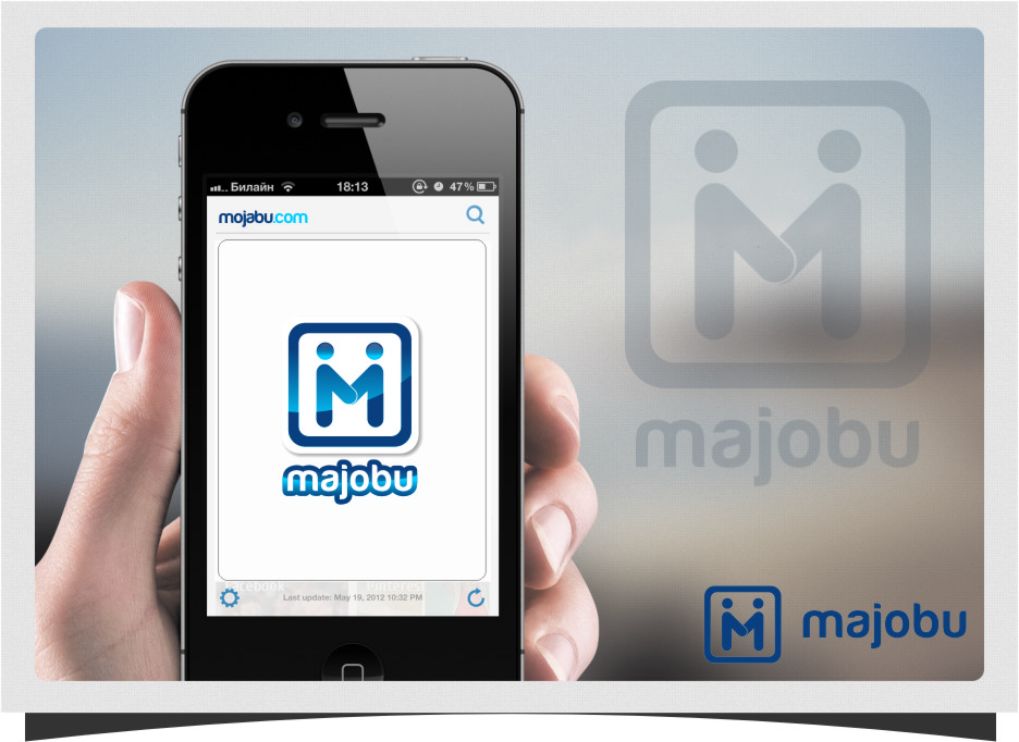 Logo Design by Ngepet_art - Entry No. 130 in the Logo Design Contest Inspiring Logo Design for Majobu.