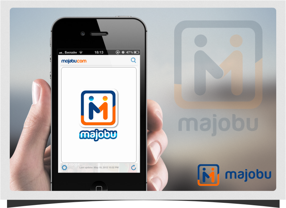 Logo Design by RoSyid Rono-Rene On Java - Entry No. 132 in the Logo Design Contest Inspiring Logo Design for Majobu.