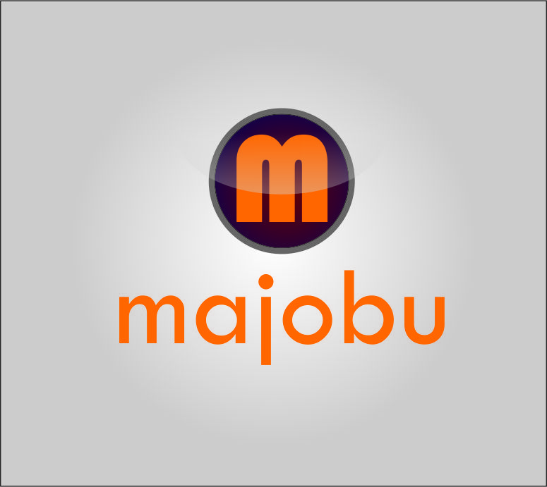 Logo Design by Agus Martoyo - Entry No. 133 in the Logo Design Contest Inspiring Logo Design for Majobu.