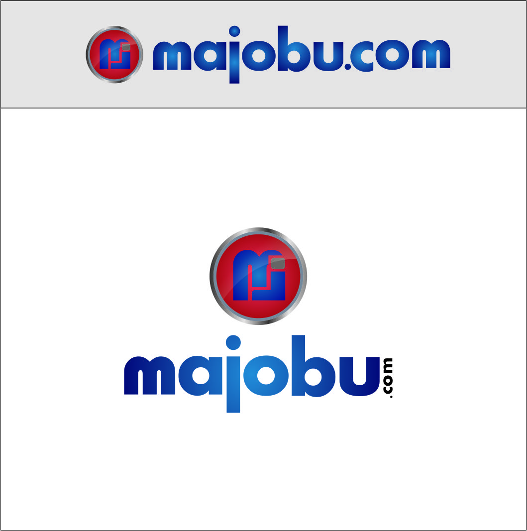 Logo Design by Agus Martoyo - Entry No. 135 in the Logo Design Contest Inspiring Logo Design for Majobu.