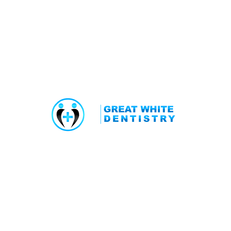 Logo Design by RAJU CHATTERJEE - Entry No. 1 in the Logo Design Contest Logo Design for Great White Dentistry.
