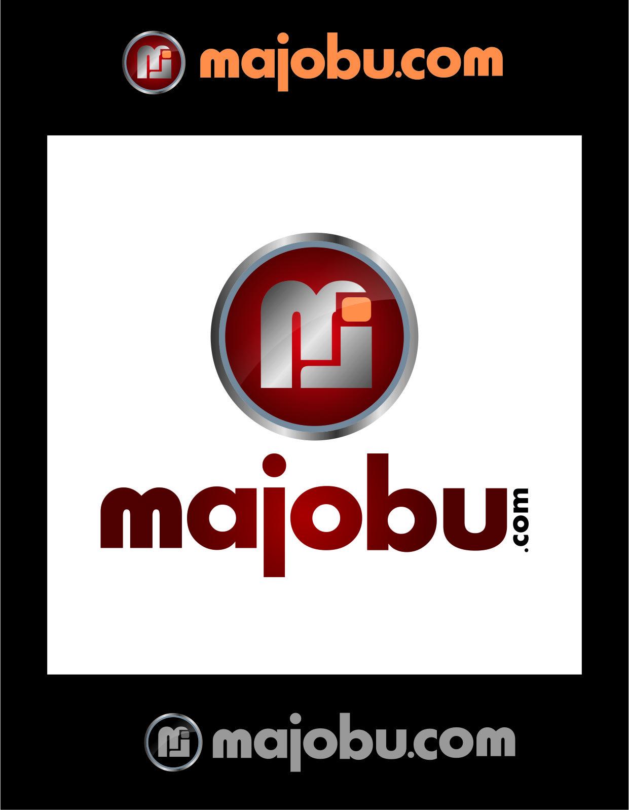 Logo Design by Agus Martoyo - Entry No. 136 in the Logo Design Contest Inspiring Logo Design for Majobu.