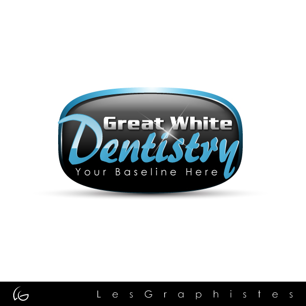 Logo Design by Les-Graphistes - Entry No. 5 in the Logo Design Contest Logo Design for Great White Dentistry.