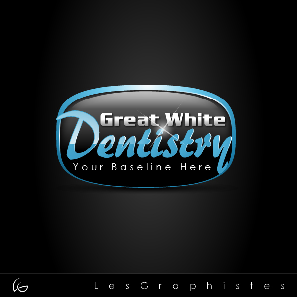 Logo Design by Les-Graphistes - Entry No. 6 in the Logo Design Contest Logo Design for Great White Dentistry.