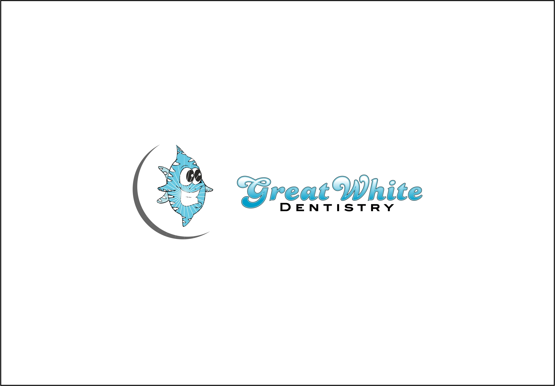 Logo Design by Fatih Ercan - Entry No. 9 in the Logo Design Contest Logo Design for Great White Dentistry.