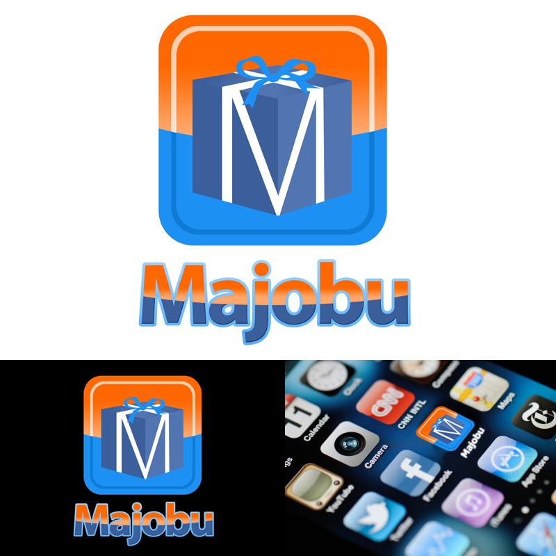 Logo Design by Private User - Entry No. 138 in the Logo Design Contest Inspiring Logo Design for Majobu.