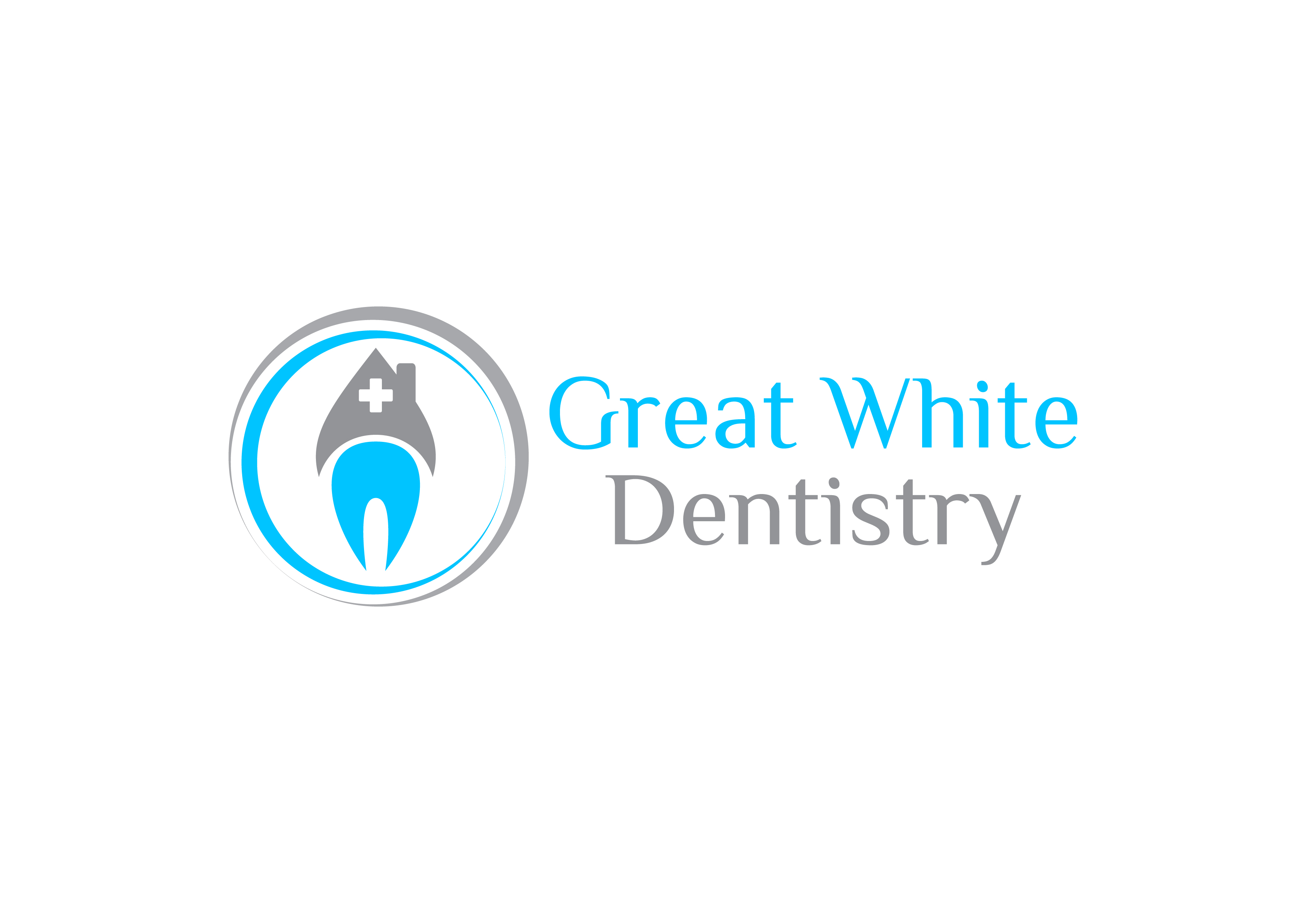 Logo Design by 3draw - Entry No. 12 in the Logo Design Contest Logo Design for Great White Dentistry.