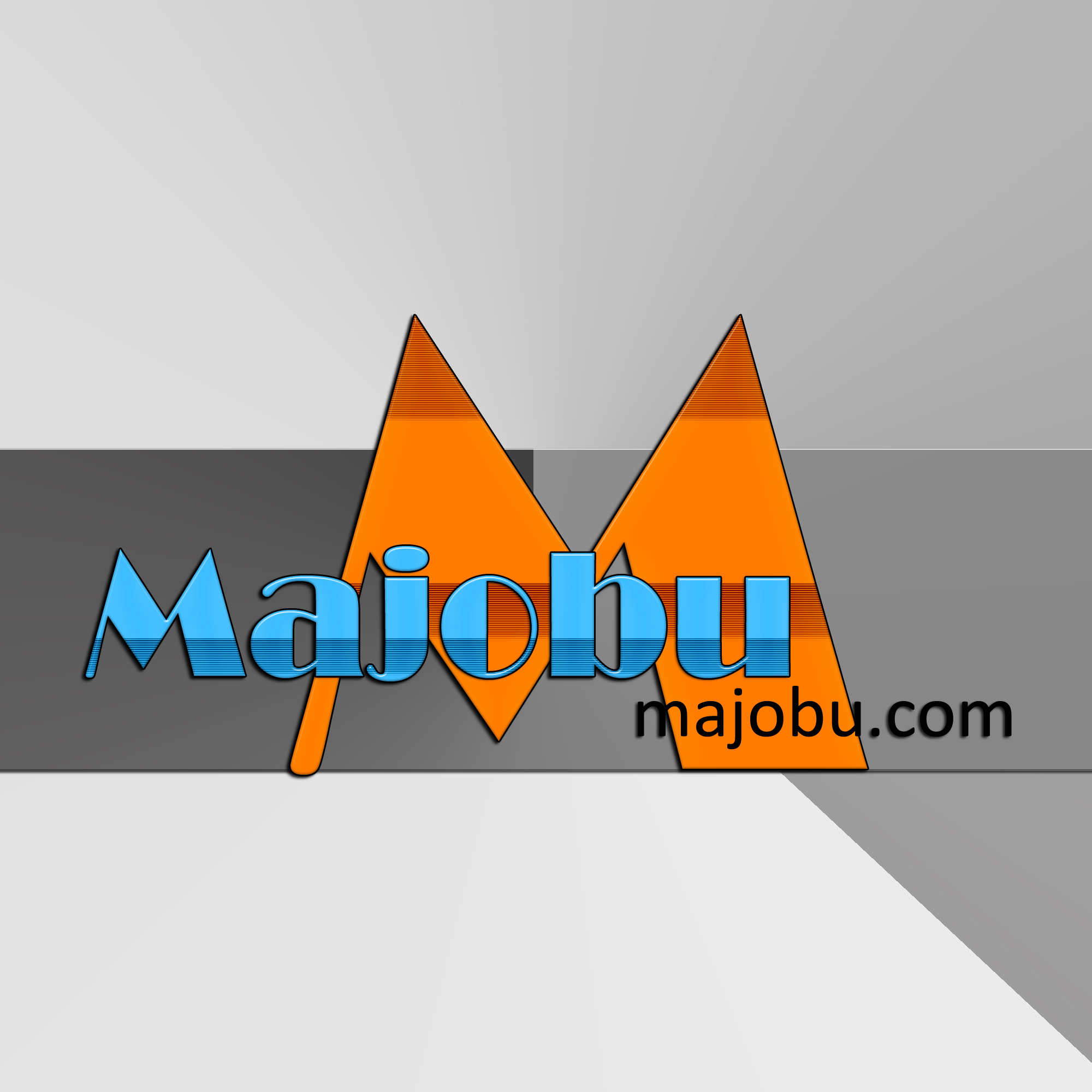 Logo Design by MITUCA ANDREI - Entry No. 145 in the Logo Design Contest Inspiring Logo Design for Majobu.